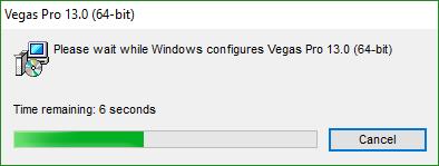 Установка Vegas
